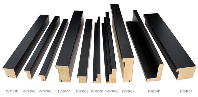 Dallas Kyoto Black Floater frames , custom picture framing